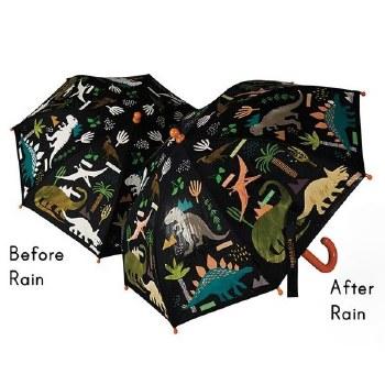 Color Changing Umbrella Dinosaurs