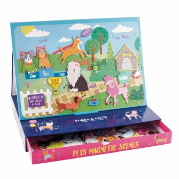 Magnetic Play Scenes Pets