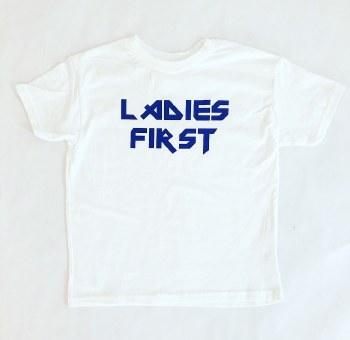Ladies First Kids Tee 2