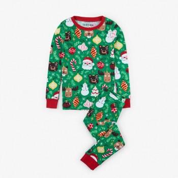 Holiday Ornament PJs 2