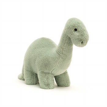 Fossily Brontosaurus