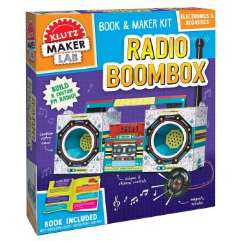 Klutz Maker Lab Radio Boombox
