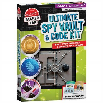 Klutz Maker Lab Ultimate Spy Vault & Code Kit