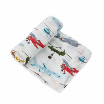 Deluxe Swaddle- Air Show