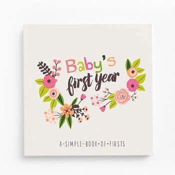 Baby's First Year Little Artist Memory Book