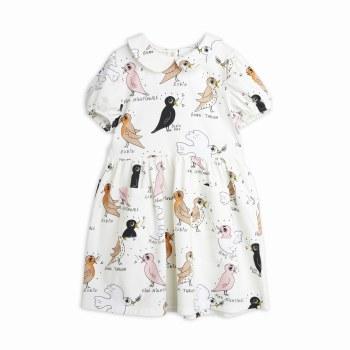 Birdwatching Puff Dress 6/7Y
