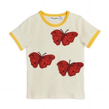 Butterflies Ringer Tee 10/11Y