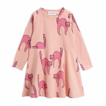 Catz LS Dress Pink 10/11Y
