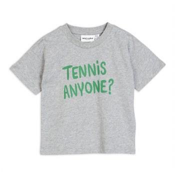 Tennis Anyone Tee Grey 2/3Y