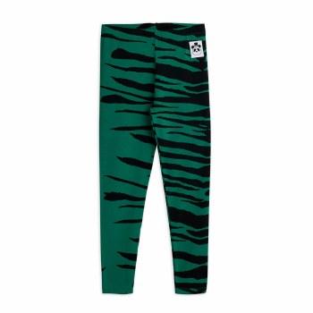 Tiger Leggings Green 2/3Y