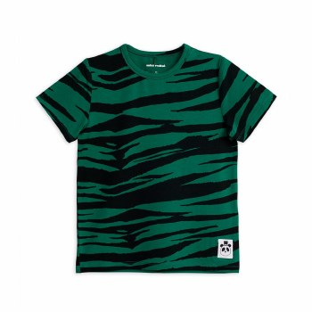 Tiger SS Tee Green 2/3Y