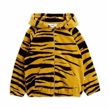 Tiger Velour Zip Hoodie 4/5Y
