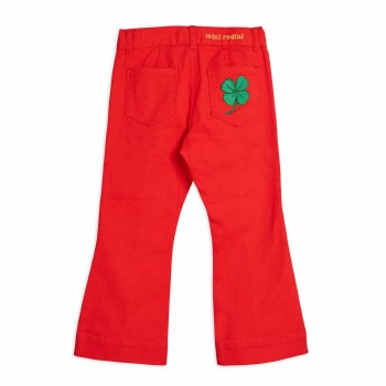 Twill Clover Jeans Red 2/3Y