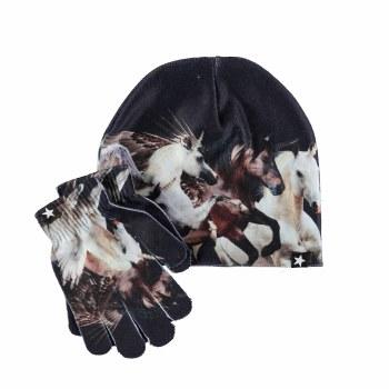 Kaya Hat/Glove Set Unicorn S/M