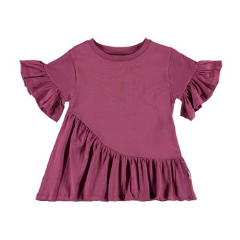 Ratja Ruffle Top Raspberry 6
