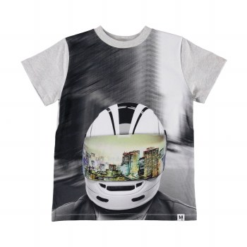 Road Tee MC Helmet 7