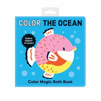 Color the Ocean Bath Book