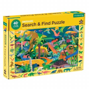 Dinosaurs Search & Find 64-Piece Puzzle