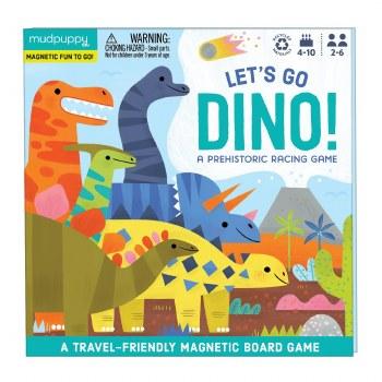 Let's Go Dino! Magnetic Board Game