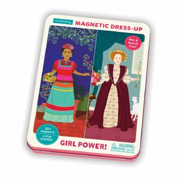 Magnetic Figures: Girl Power