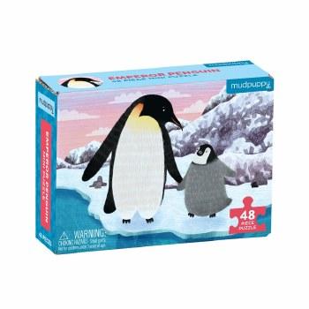 Mini Puzzle Emperor Penguin
