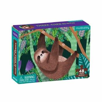 Mini Puzzle Three-Toed Sloth