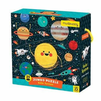 Solar System 25-Piece Jumbo Puzzle