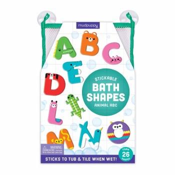 Stickable Foam Bath Shapes Animal ABC