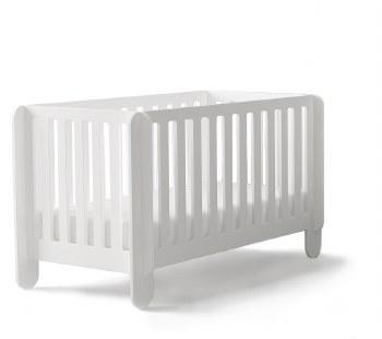 Oeuf Elephant Crib-White