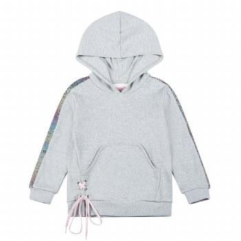 Sequin Stripe Hoodie 6
