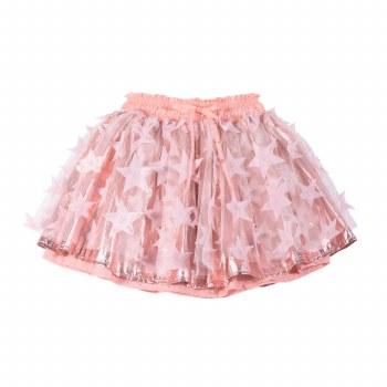 Tulle Star Skirt Pink 4