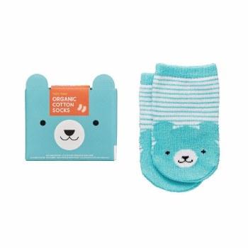 Organic Cotton Socks Baby Bear