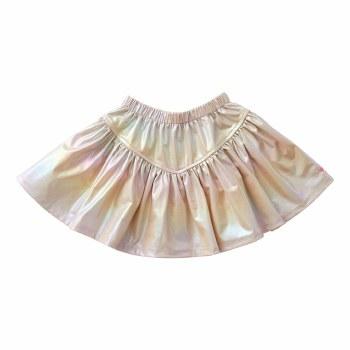 Alexis Lame Skirt Pearl 7
