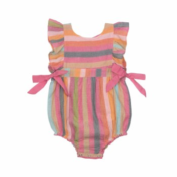 Amy Bubble Multi Stripe 12-18M