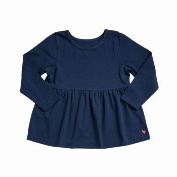Bette Top Dress Blue Org 3