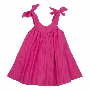 Frida Dress Shocking Pink 2