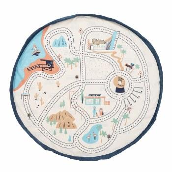 Playmat/Storage Bag LA Roadmap