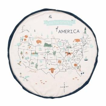 Playmat/Storage Bag US Map