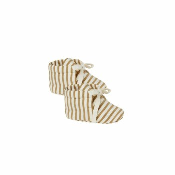Baby Boots Gold Stripe 3-6M
