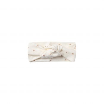 Baby Turban Ivory 12-24M