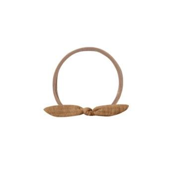 Knot Baby Headband Walnut