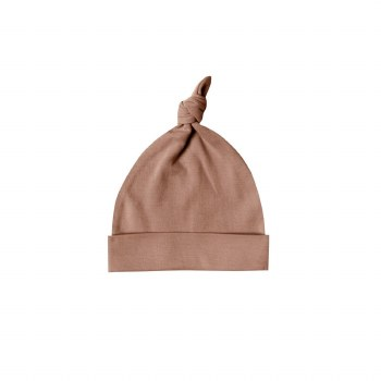 Knot Baby Hat Clay 0-6M
