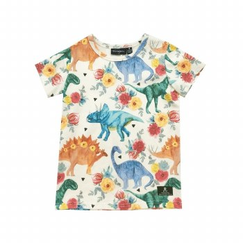 Dino Floral SS Tee 7
