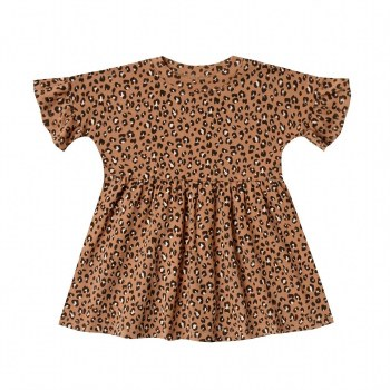 Cheetah Babydoll Dress 12-18M