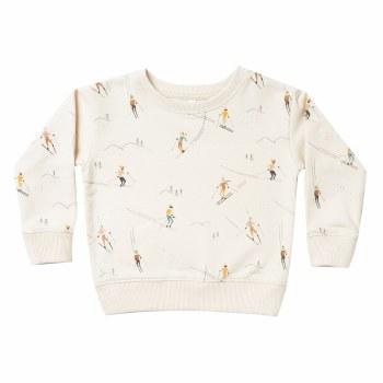 Ski Sweatshirt Wheat 18-24M