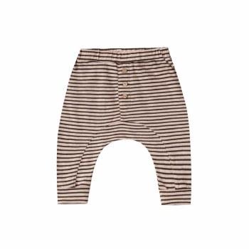 Stripe Slub Baby Pant 0-3M