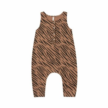 Tiger Jumpsuit Bronze 0-3M