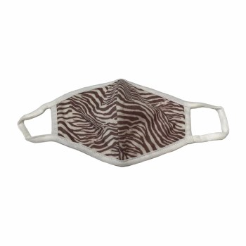 Adult Face Mask Zebra