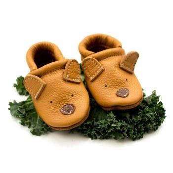Bear Baby Shoe Honey 6-9M