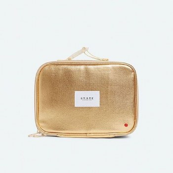 Rodgers Lunch Box- Metallic Gold